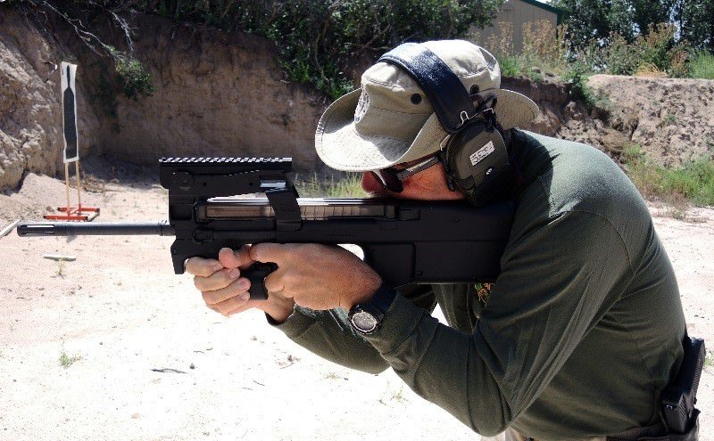 Firing the FNH USA PS90 (Carbine)