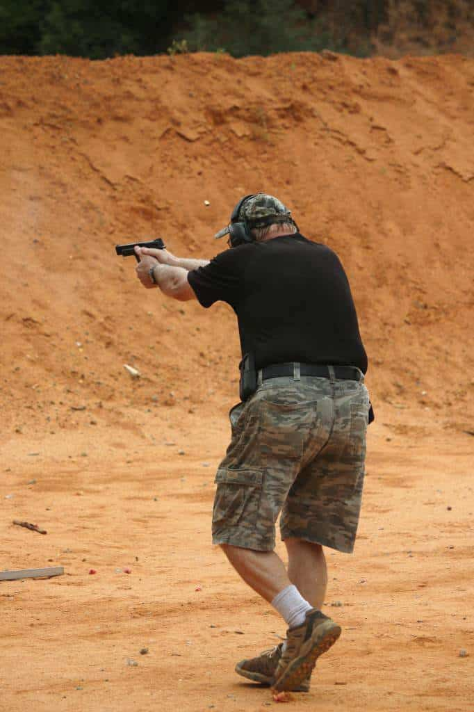 Ben Shooting IDPA Classifier, August 17, 2014