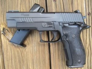 The SIG SAUER P226 Elite Single Action Only 9 mm- A Review