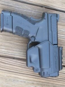 XD-9 Mod. 2 in Holster (included in case)