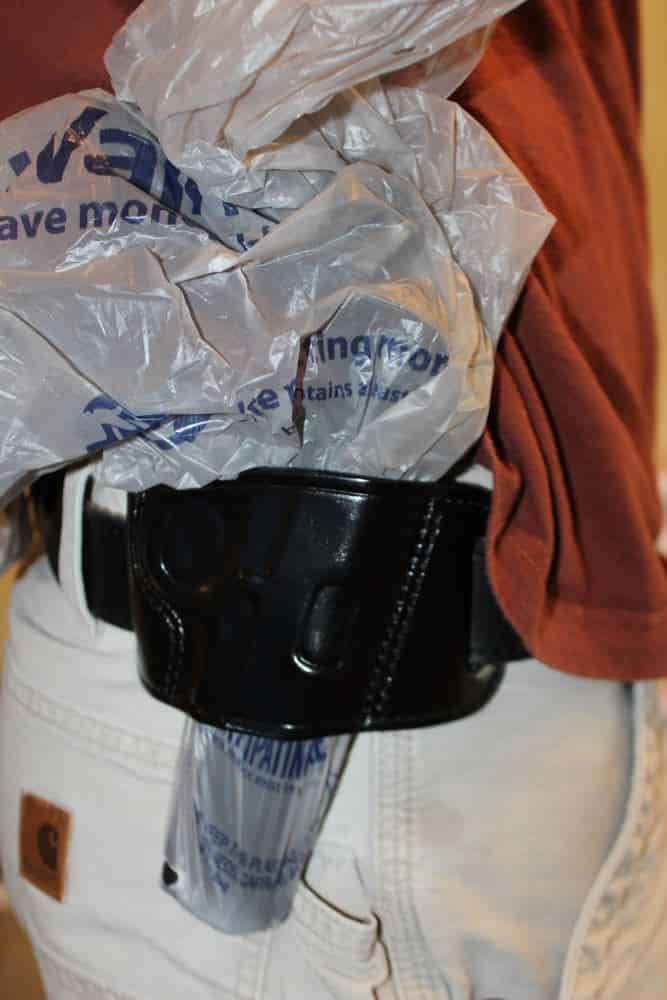 How to Break In a New Holster