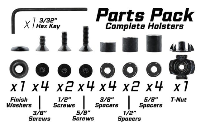 Alien Gear Holsters Parts Pack