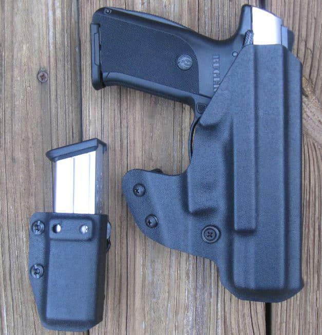 Several Holster & Ammo Pouch Options are Available for Various Pistols