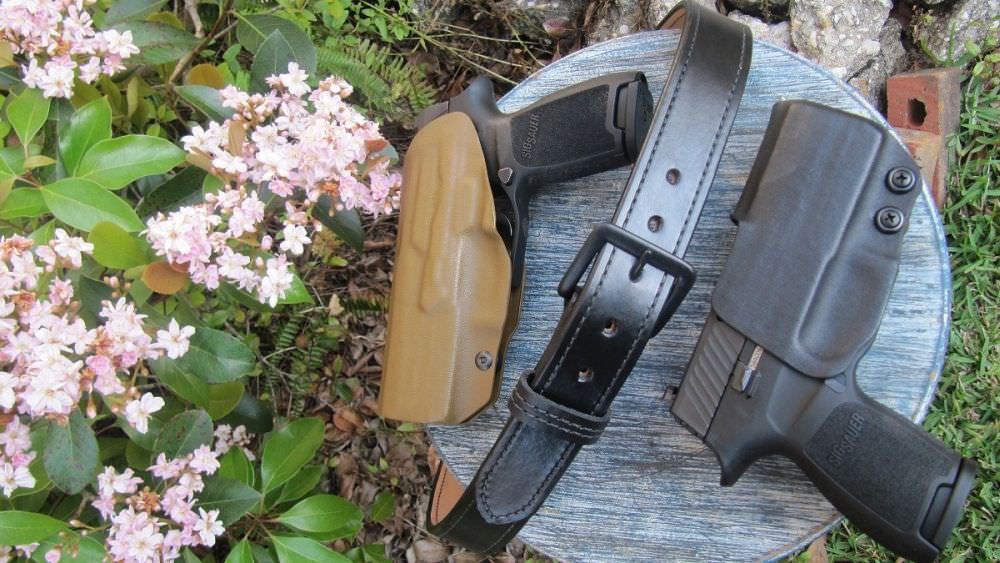 Dara Holsters' Action Sport OWB Package plus IWB Holster