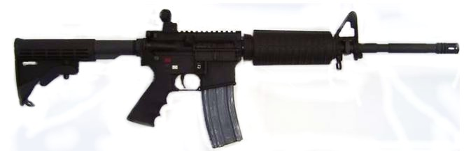 Bullet Button Device on AR-15 — Allows Mag to Be Removed