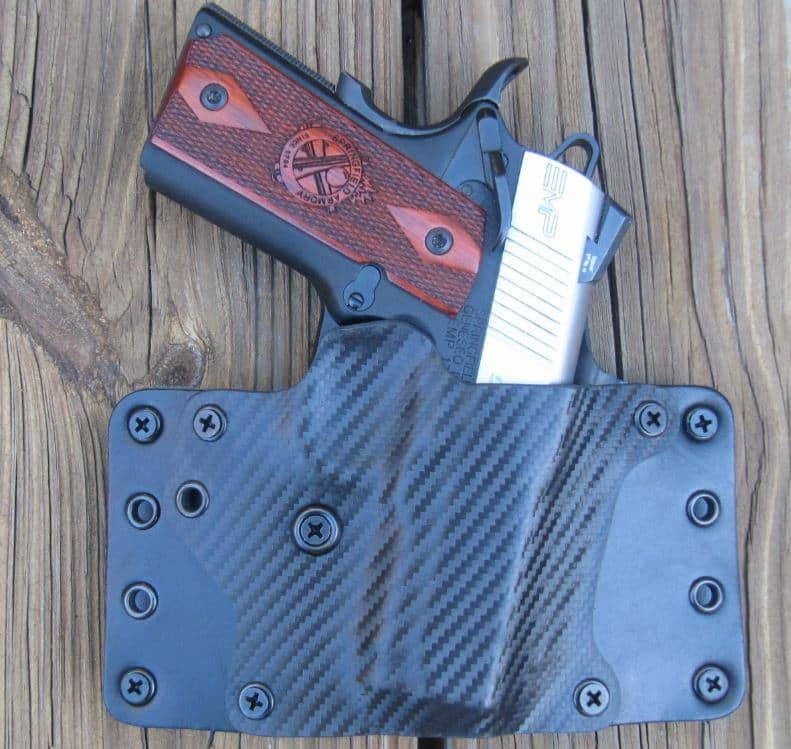 BlackPoint Tactical Leather Wing Outside-the-Waistband Hybrid Holster Review