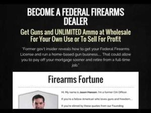 BECOME A FEDERAL FIREARMS DEALER
