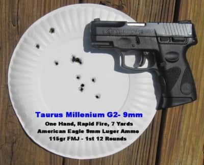 Range Test: First 12 Shots with Taurus Millenium G2
