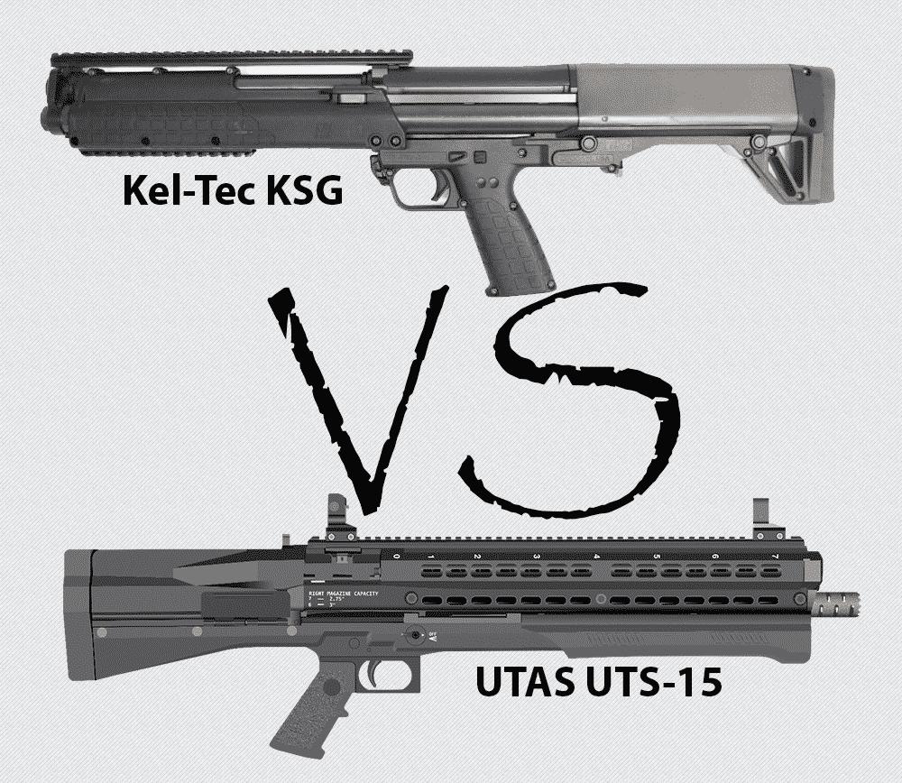 Kel-Tec KSG vs. UTAS UTS-15