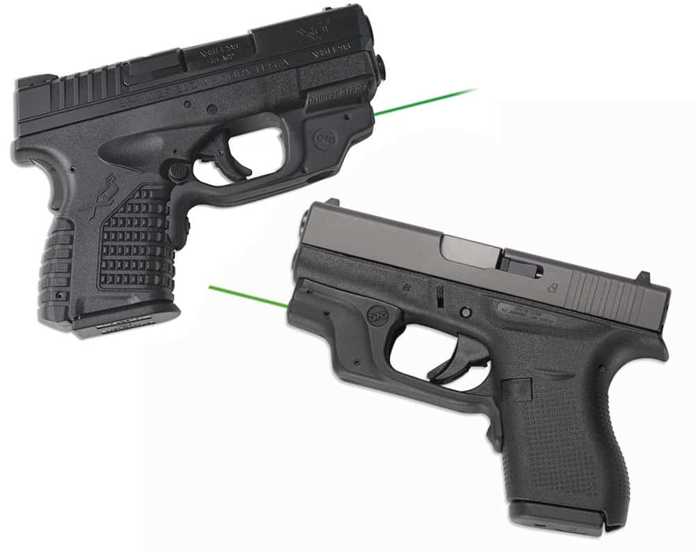 Crimson Trace GREEN Laserguard for the Springfield Armory XD-S and Glock Model 43 Coming Soon