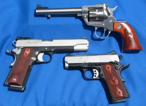 Trigger Actions for Handguns: Common Types