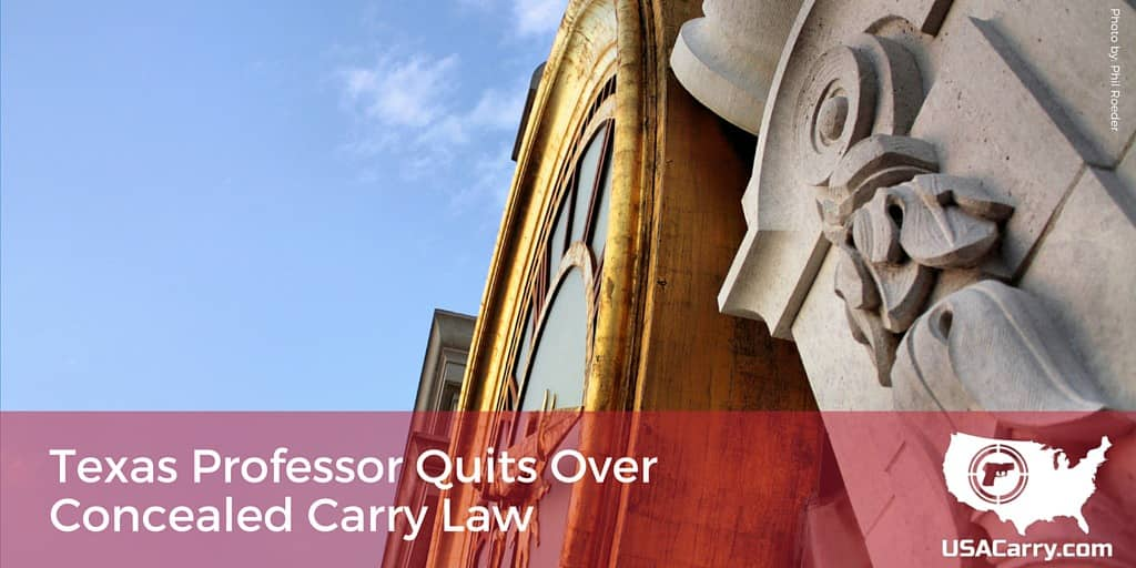 Texas Professor Quits Over Concealed Carry Law