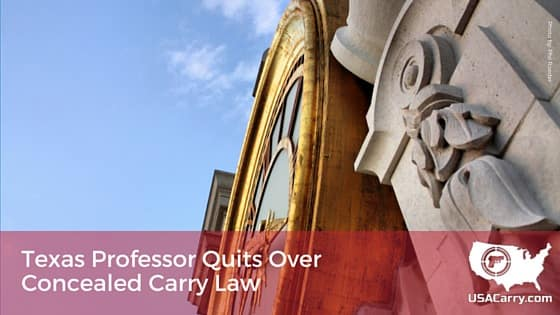 Texas Professor Quits Over Concealed Carry Law (2)