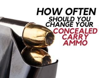 How often should you change your concealed carry ammo for How often should u change your mattress
