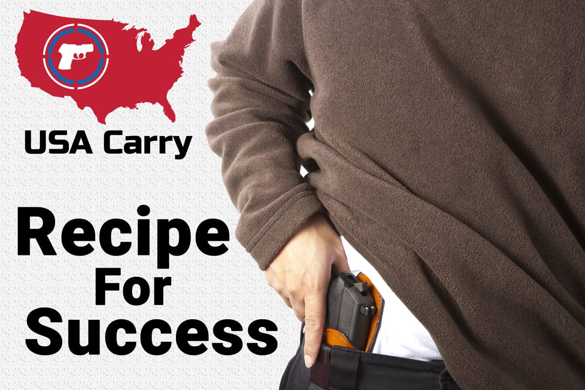 5 Essential Ingredients Every Concealed Carrier Needs... A Quick Recipe For Success!