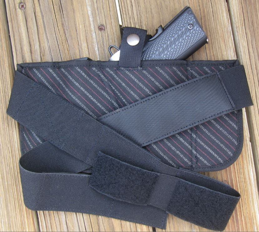 Brave Response Holster- Back View with Straps