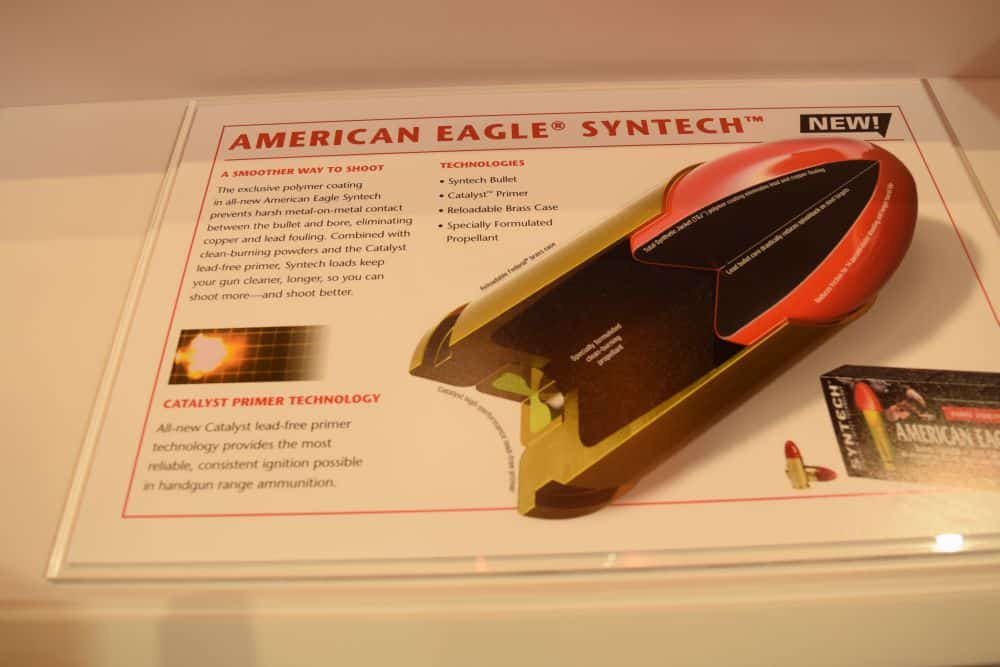 Federal's American Eagle SYNTECH Ammo
