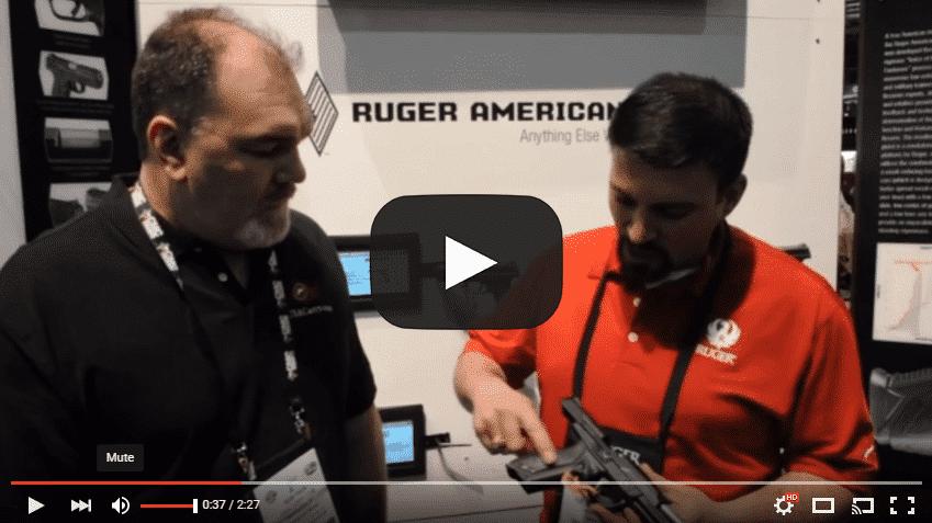 Shot Show 2016: Ruger American Pistol