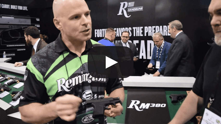 Shot Show 2016: Remington RM380