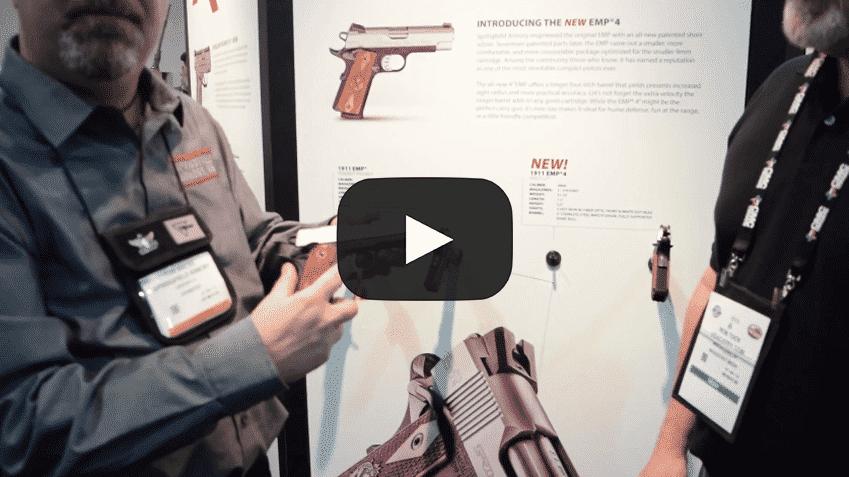 Shot Show 2016: Springfield Armory EMP4