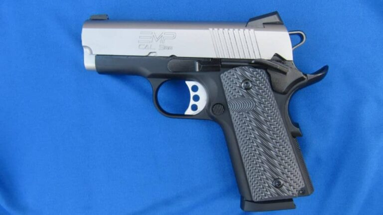 Springfield Armory 1911 EMP Sub-Compact 9mm for Carry [REVIEW]