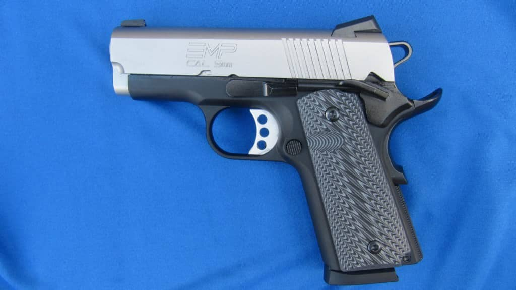 The Springfield-Armory 1911 EMP Sub-Compact 9mm for Carry [REVIEW]