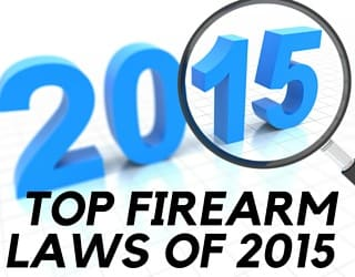 A Year in Review: Top Firearms Laws of 2015