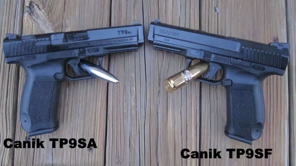 Canik TP9SF- Top -- TP9SA- Bottom