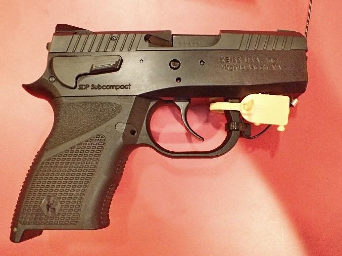 KRISS' SDP sub-compact 9MM pistol