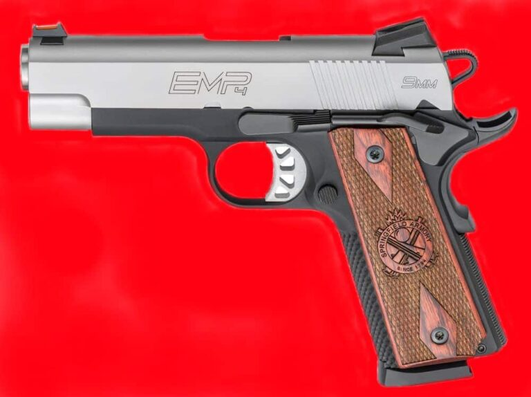 New for 2016: The Springfield-Armory 1911 EMP 4 – Compact 9mm [REVIEW]