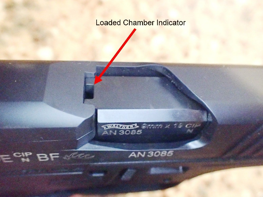 Walther PPS M2 Loaded Chamber Indicator