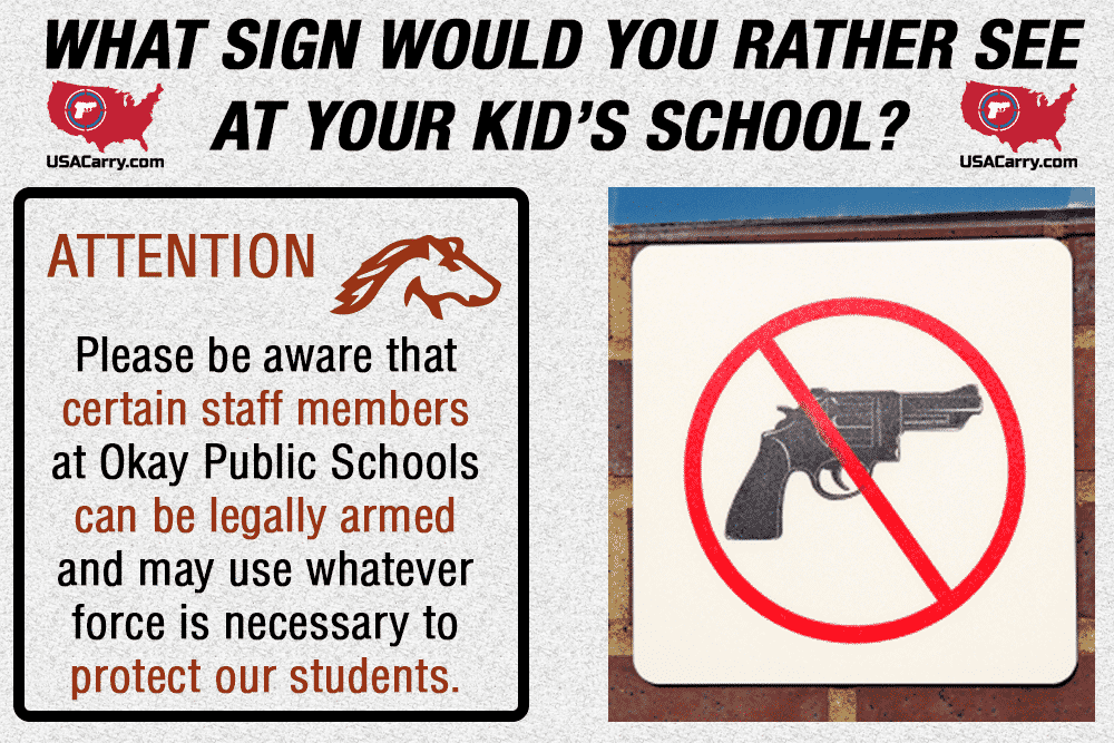 What Sign Would You Rather See At Your Kid's School?