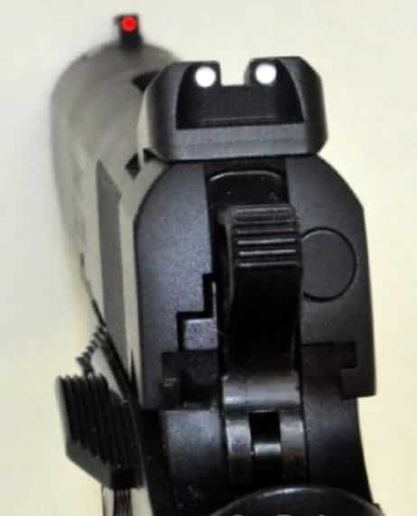 RO Compact-Front FO and Rear Sights-One-Side Safety