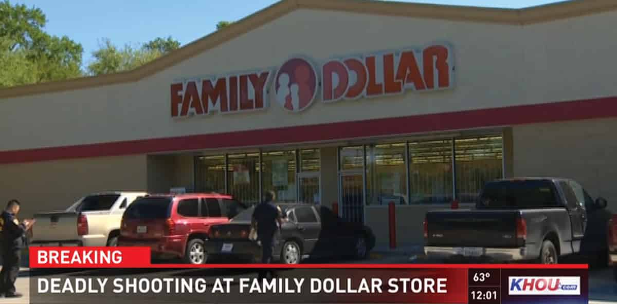Armed Family Dollar Employee Shoots Robber Dead