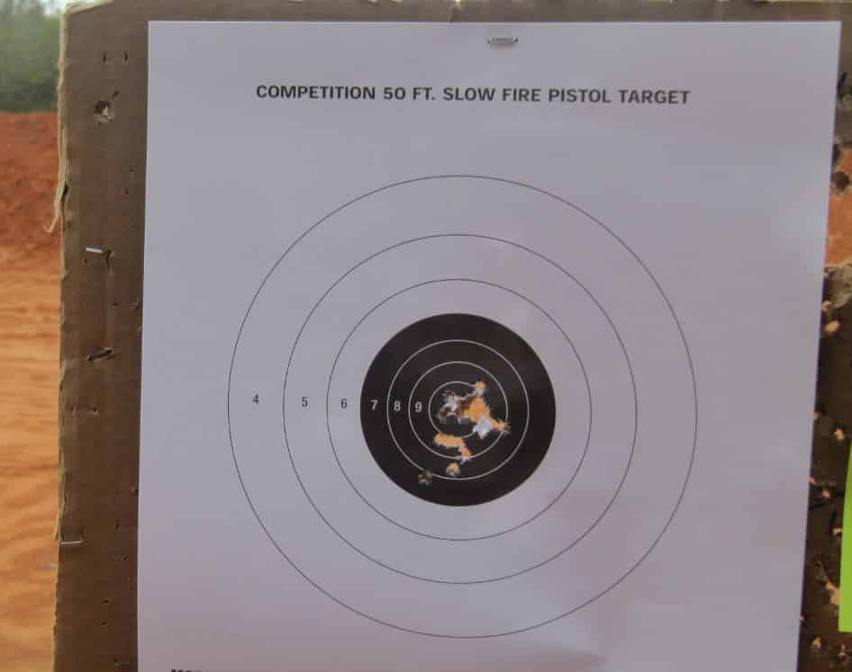 15 Yards- 20 Hits- SW22 Victory .22LR
