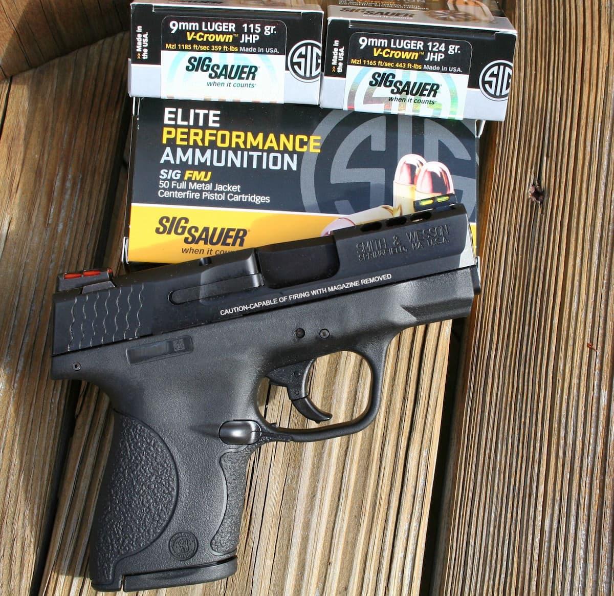 Ported 9mm Shield- SIG Ammo- 2376x2304