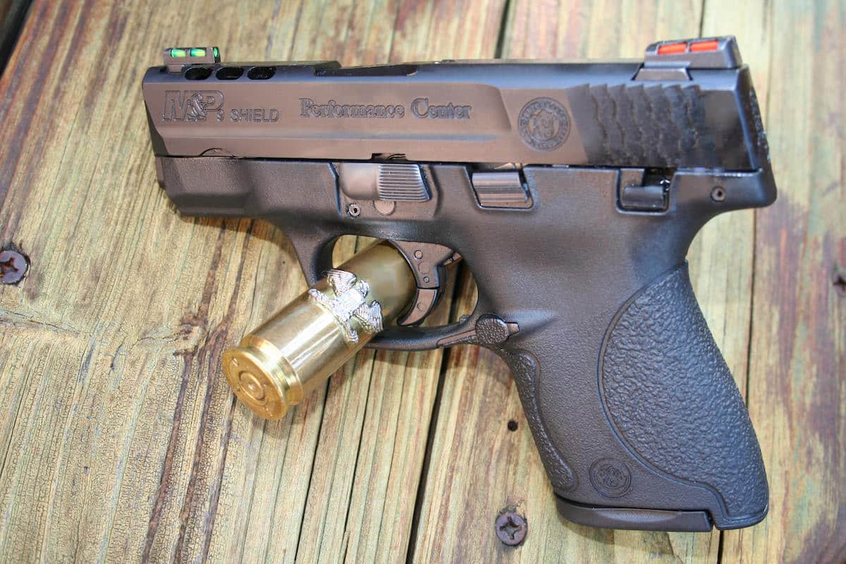Smith & Wesson M&P 9mm PORTED Shield Review