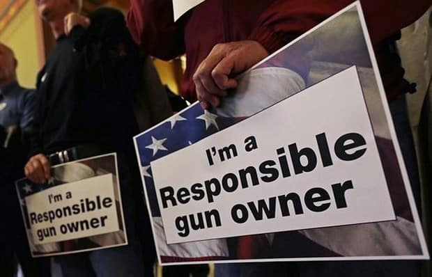 We don't take the responsibility of being a gun owner lightly