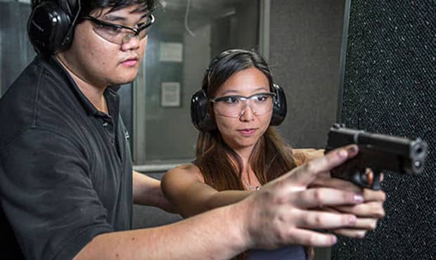 We're more than happy to teach people about firearms and firearm safety