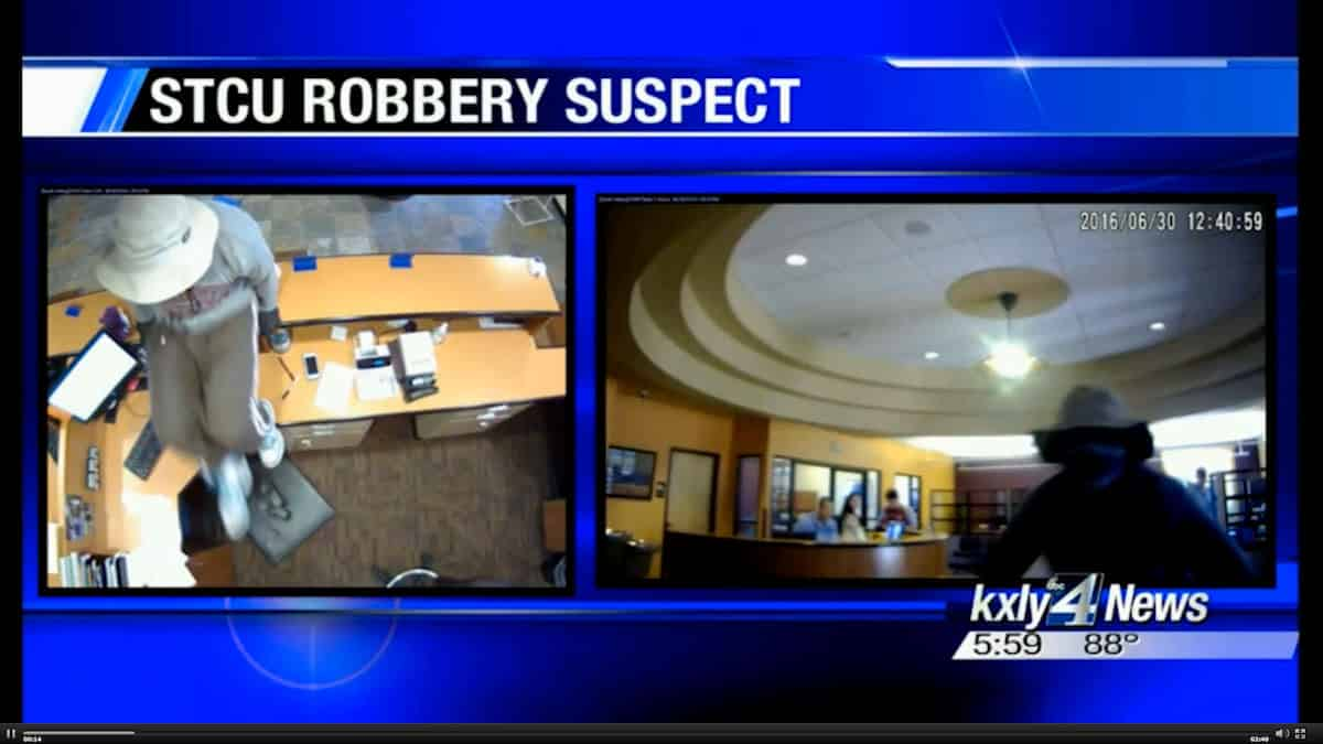 Armed Robber Gets More Than He Bargained For