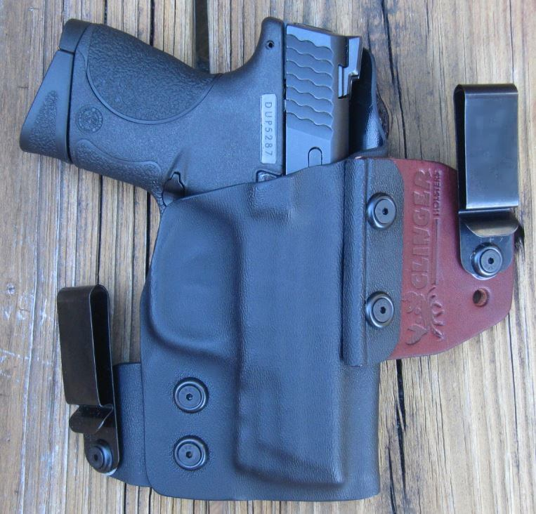 Clinger No-Print Wonder (NPW) IWB Hybrid Holster with M&P9C- frontside