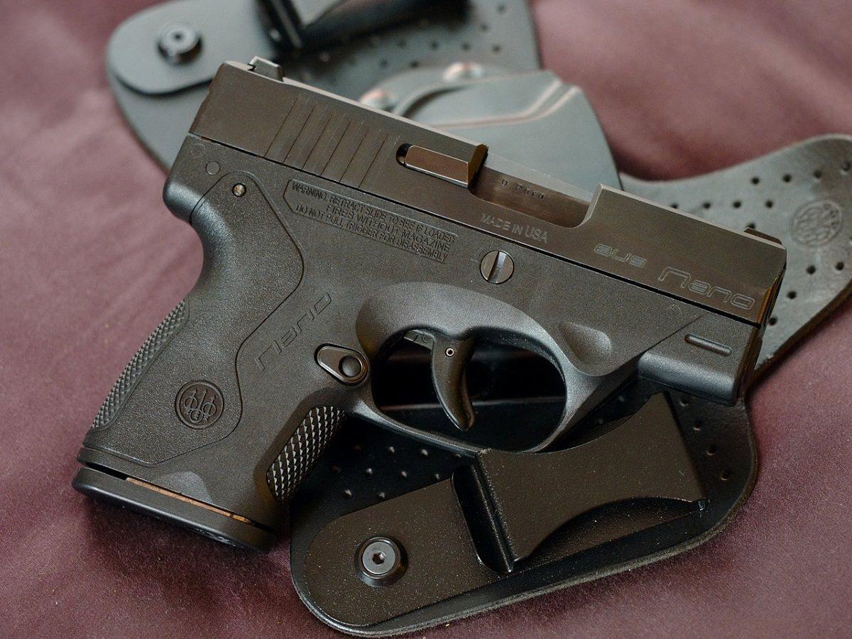 Nano gun holster
