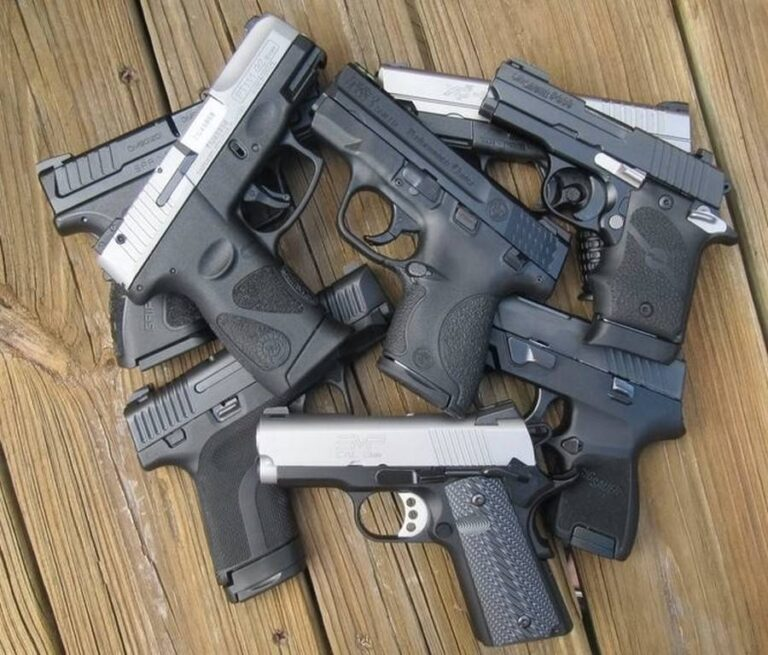 Comparison of 14 Top Subcompact 9mm Carry Pistols