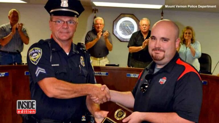 Ohio CCW Holder Rewarded for Saving Police Officer