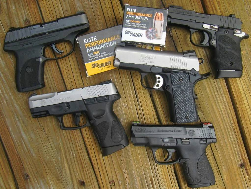 5 SUBCOMPACT 9mm Carry Pistols