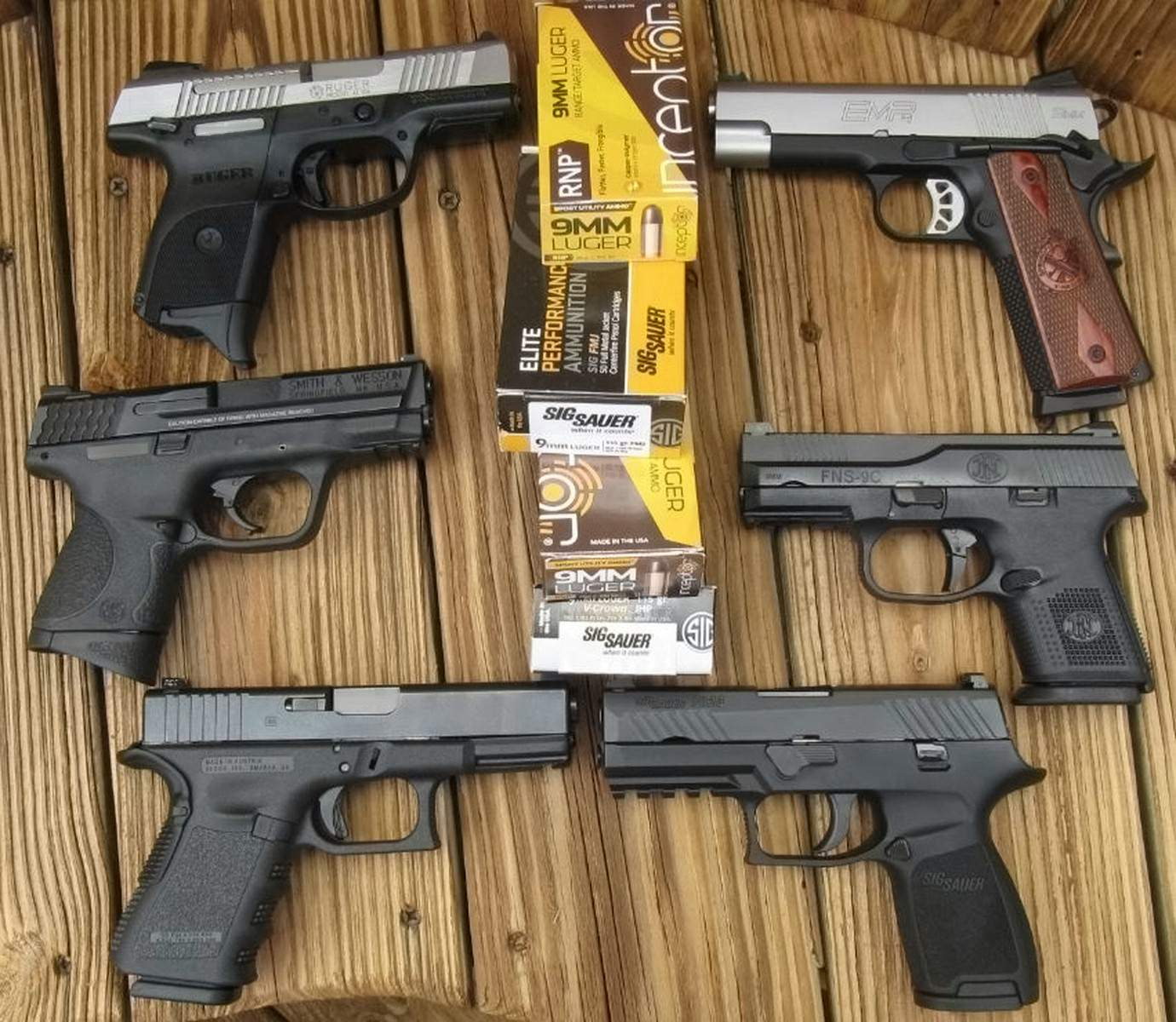 6 COMPACT 9mm Carry Pistols