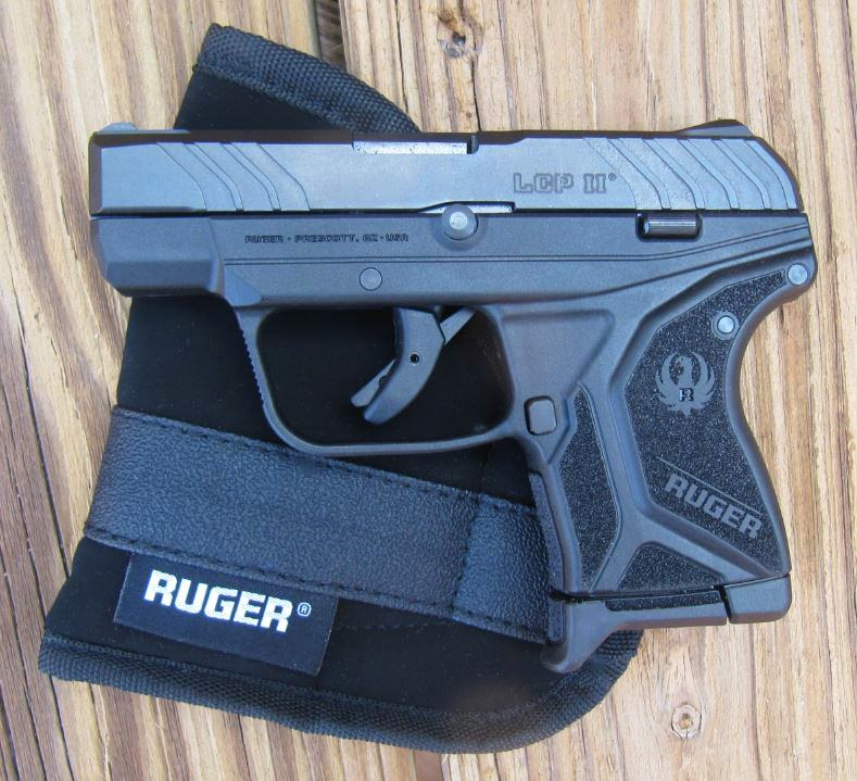 Ruger LCP II with Pocket Holster included in Box