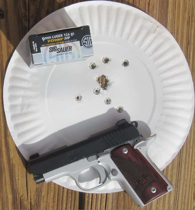 Kimber Micro 9 Out of the Box 14 Rapid Fire Hits at 5 & 7 Yards