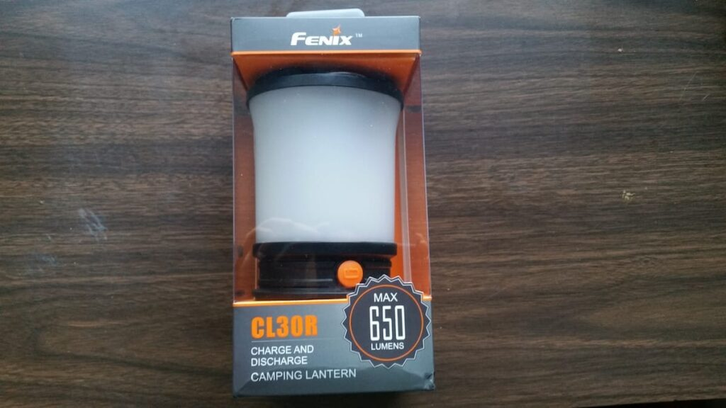 Flashlight Review: Fenix CL30R Camping Lantern