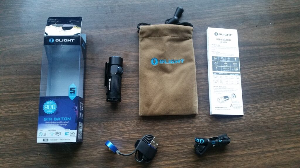 Flashlight Review: Olight S1R Baton